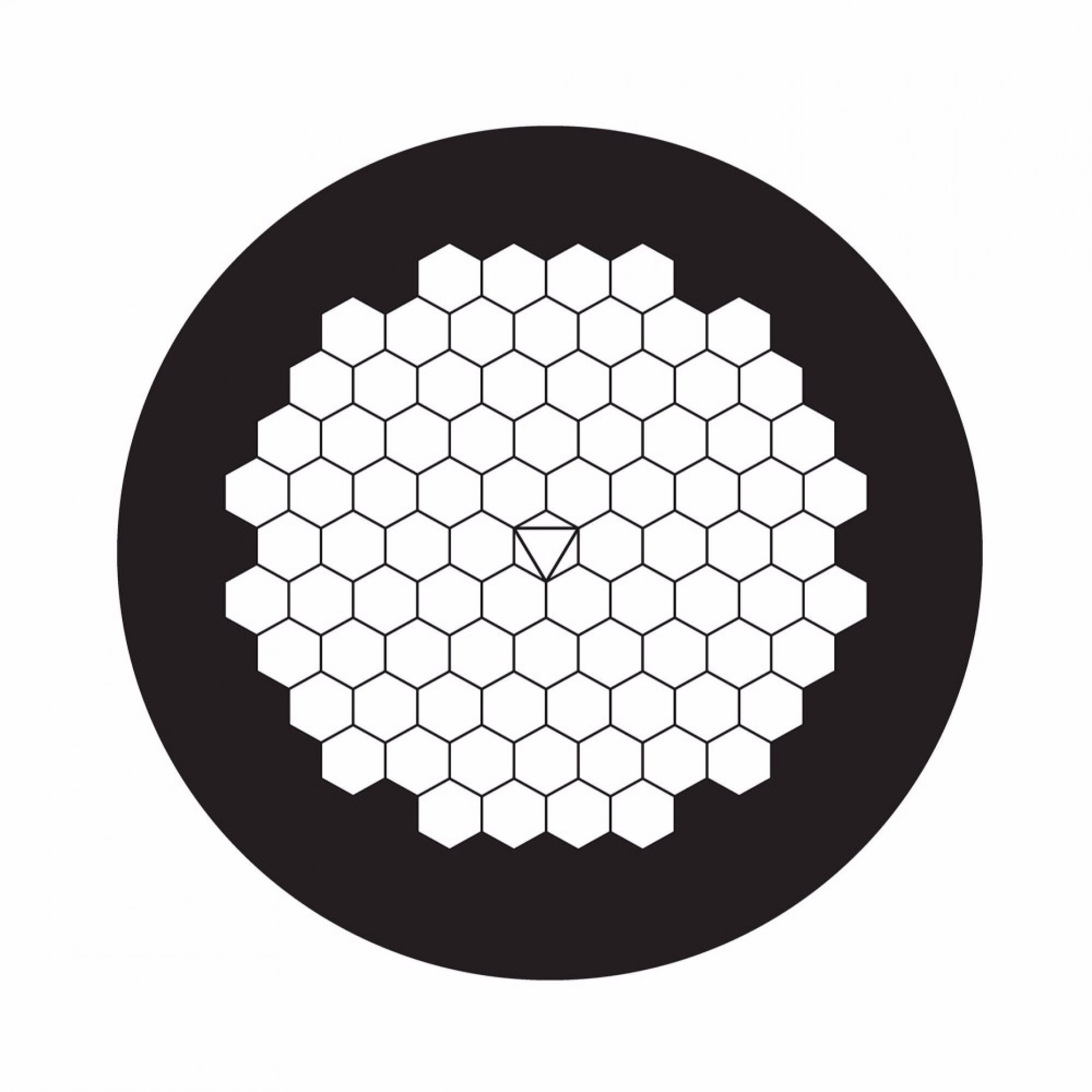 100 Mesh Hexagonal Grid