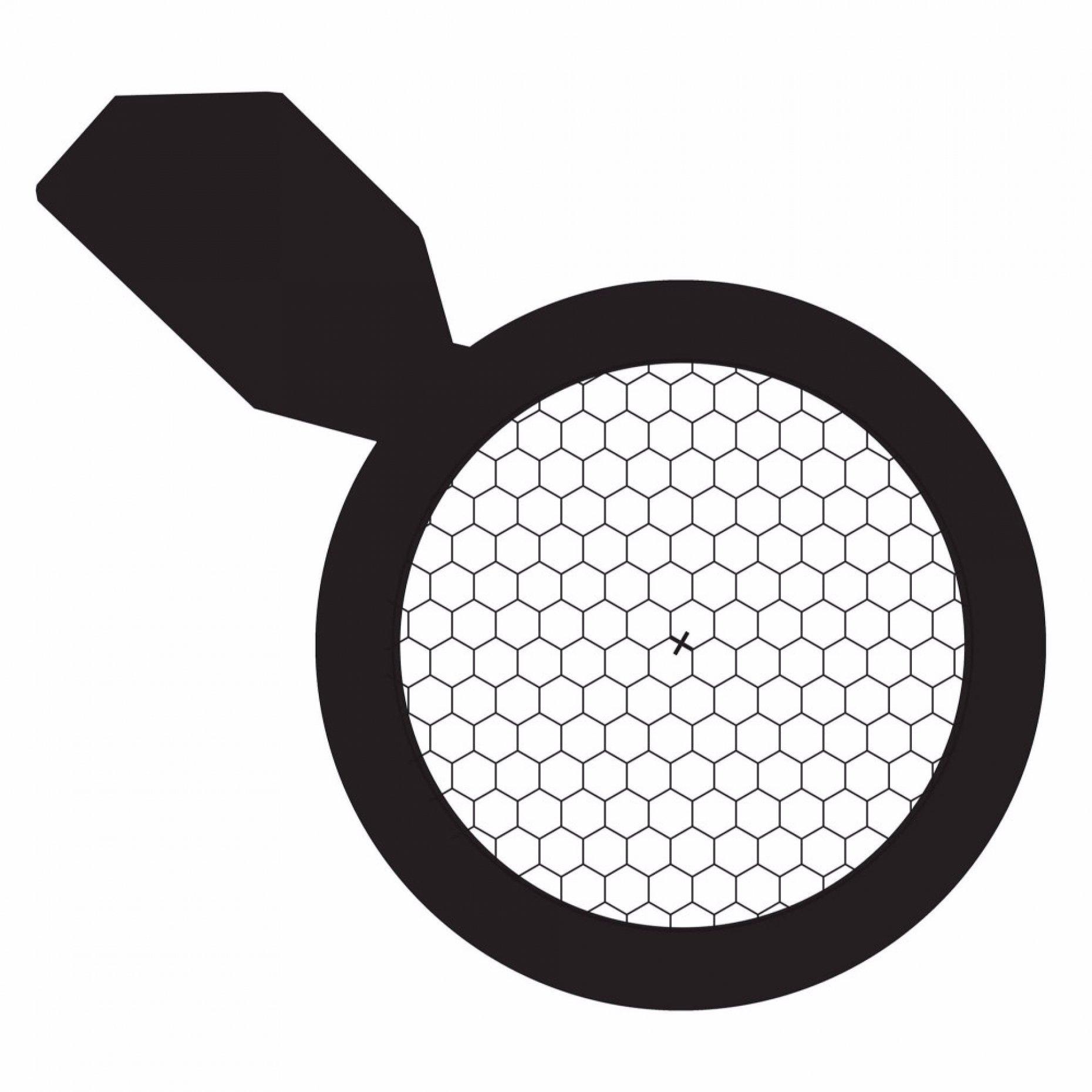 135 Mesh Hexagonal Grid with Handle