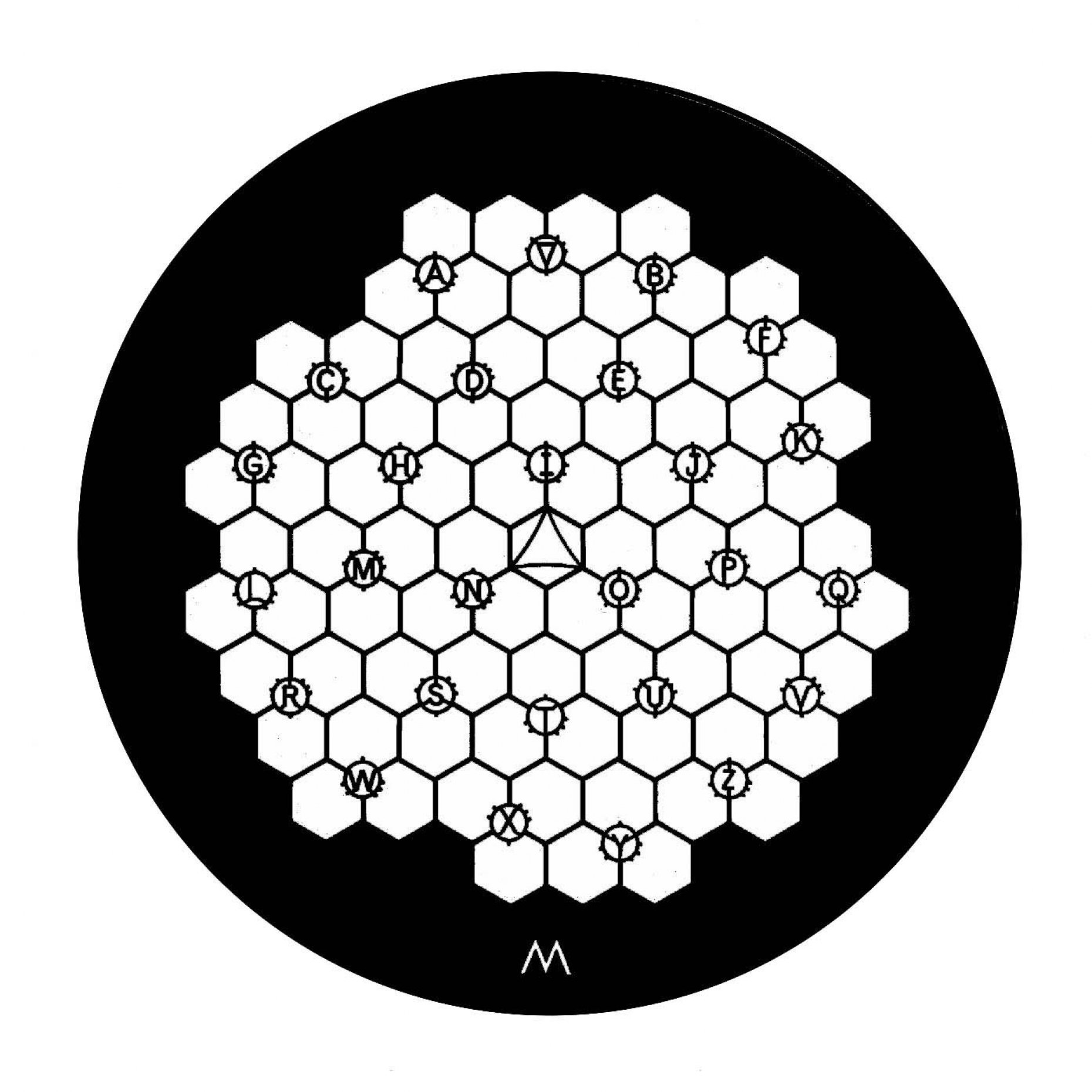 100 Mesh Hexagonal Reference Grid