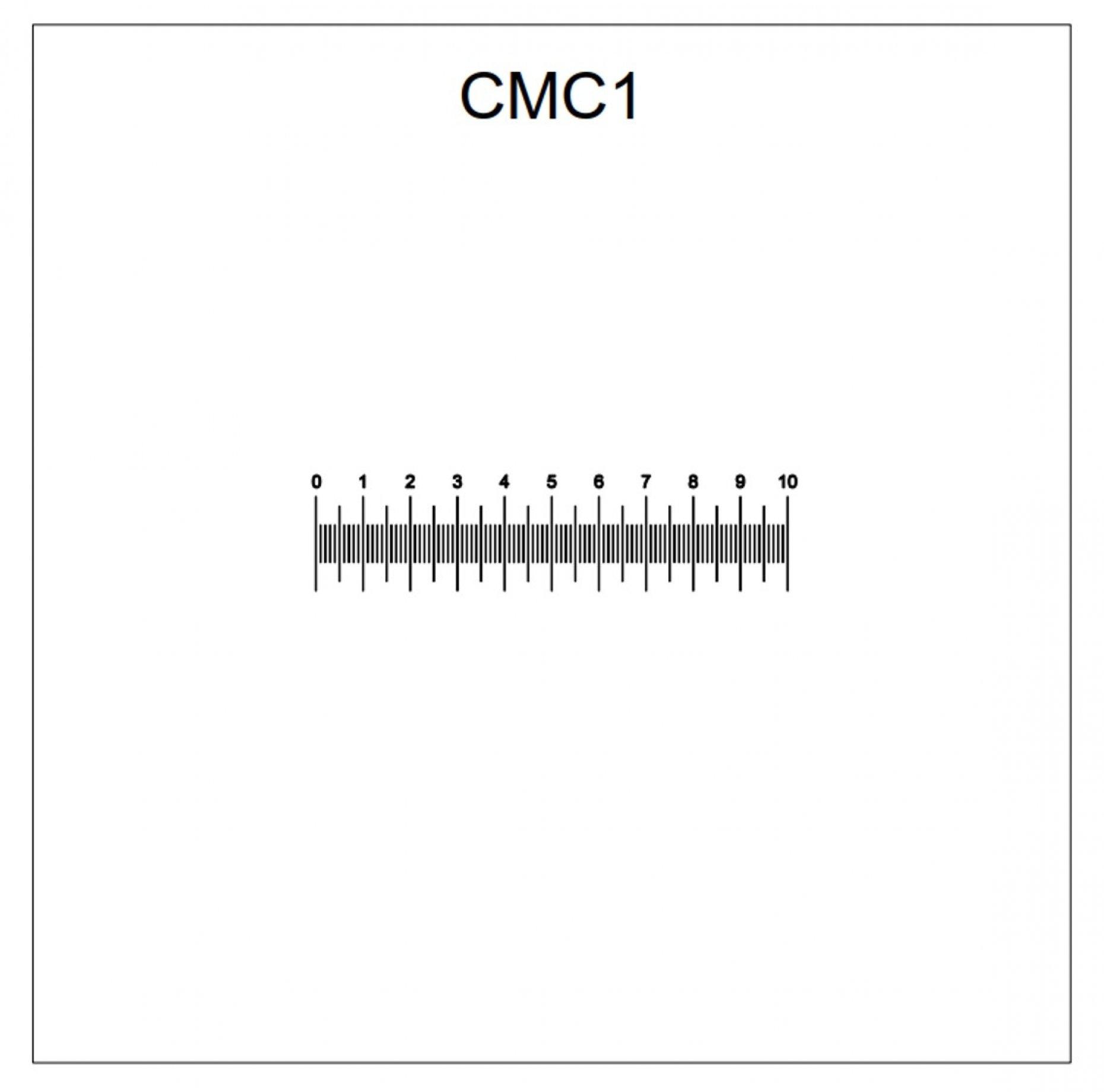 CMC1 Horizontal Scale 10mm/0.1mm Pattern
