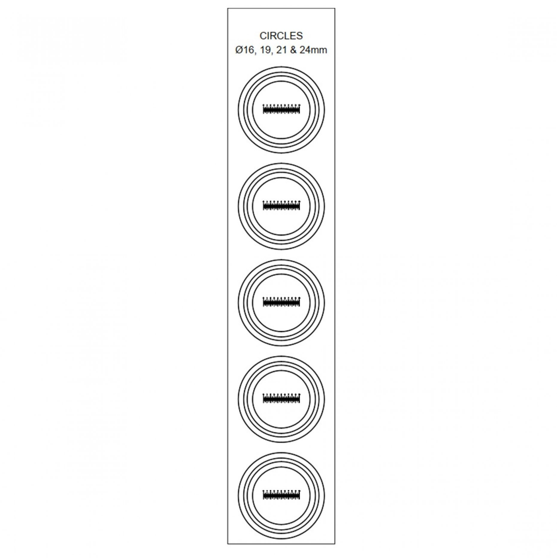 FNE1 Film Reticles 10mm/0.1mm