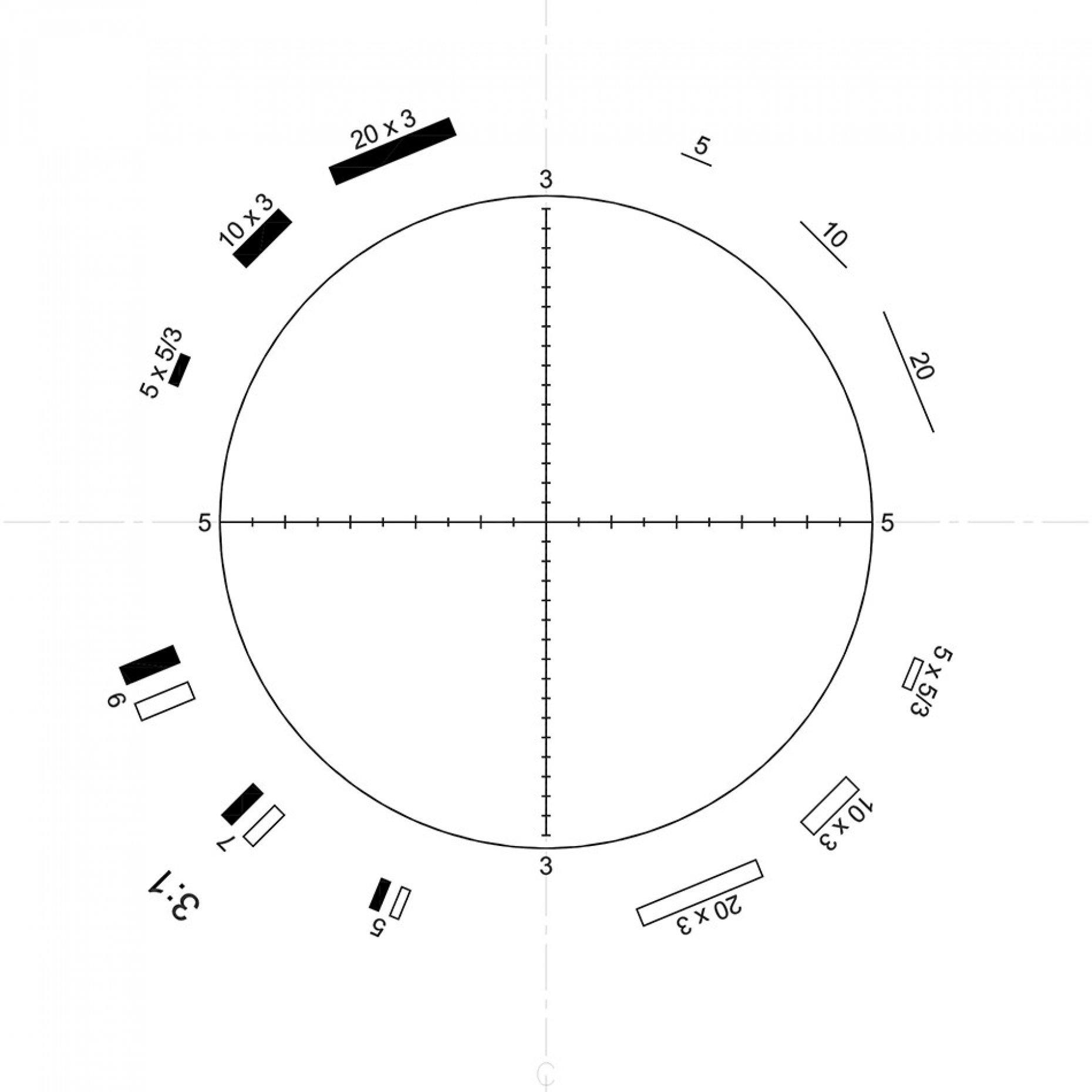 G22 Walton & Beckett 3:1 Pattern
