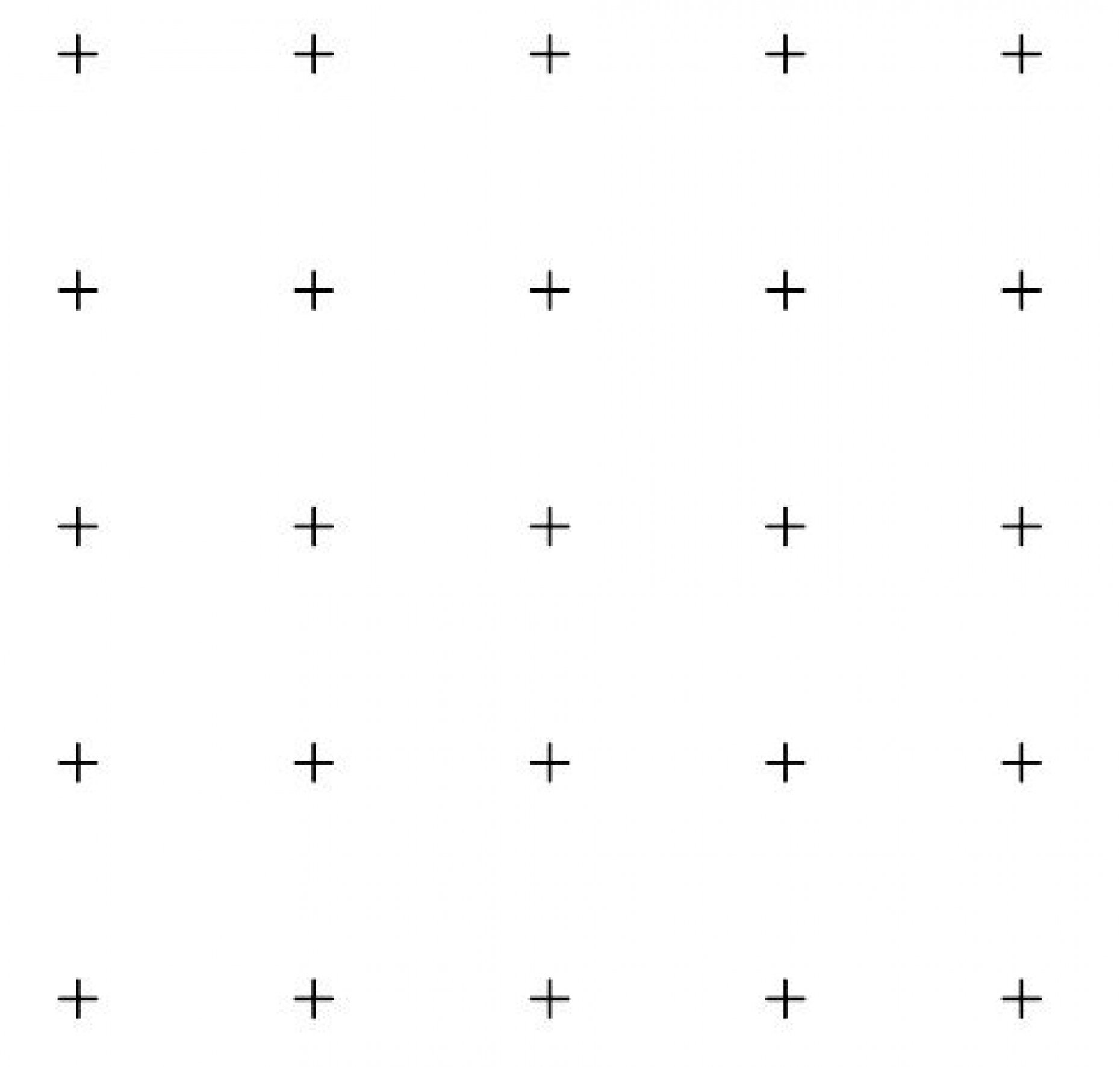 G55 ASTM E562 25 Point Square Grid Pattern