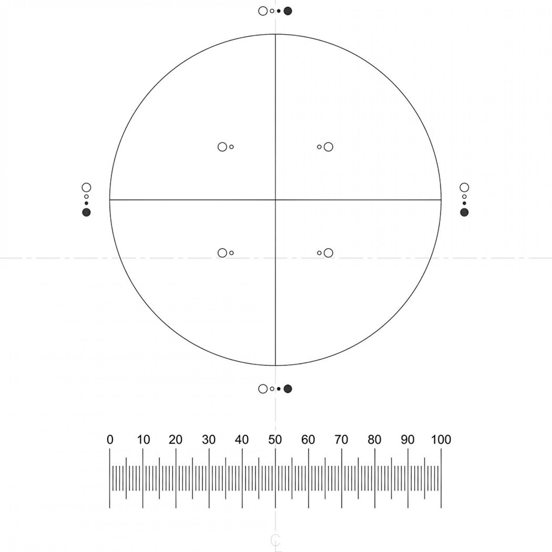 G57 Pharmaceutical PSA Pattern, IMA Reticle Pattern