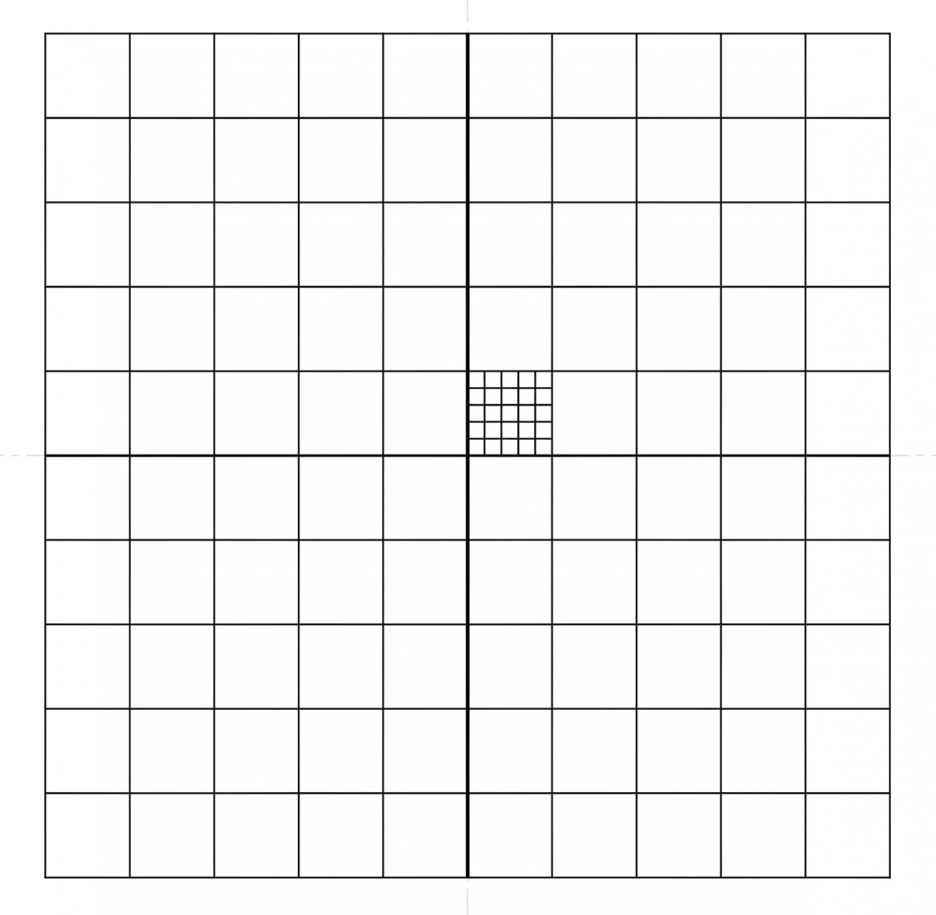 NE29 Whipple Grid Pattern