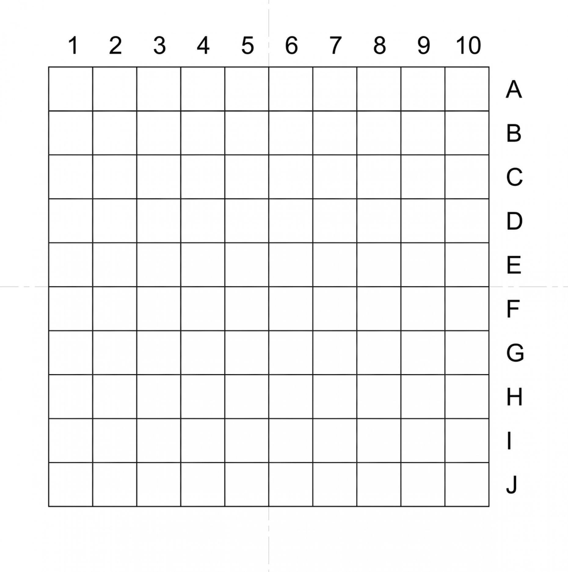 NE34A Indexed Grid 0.1mm Squares Pattern