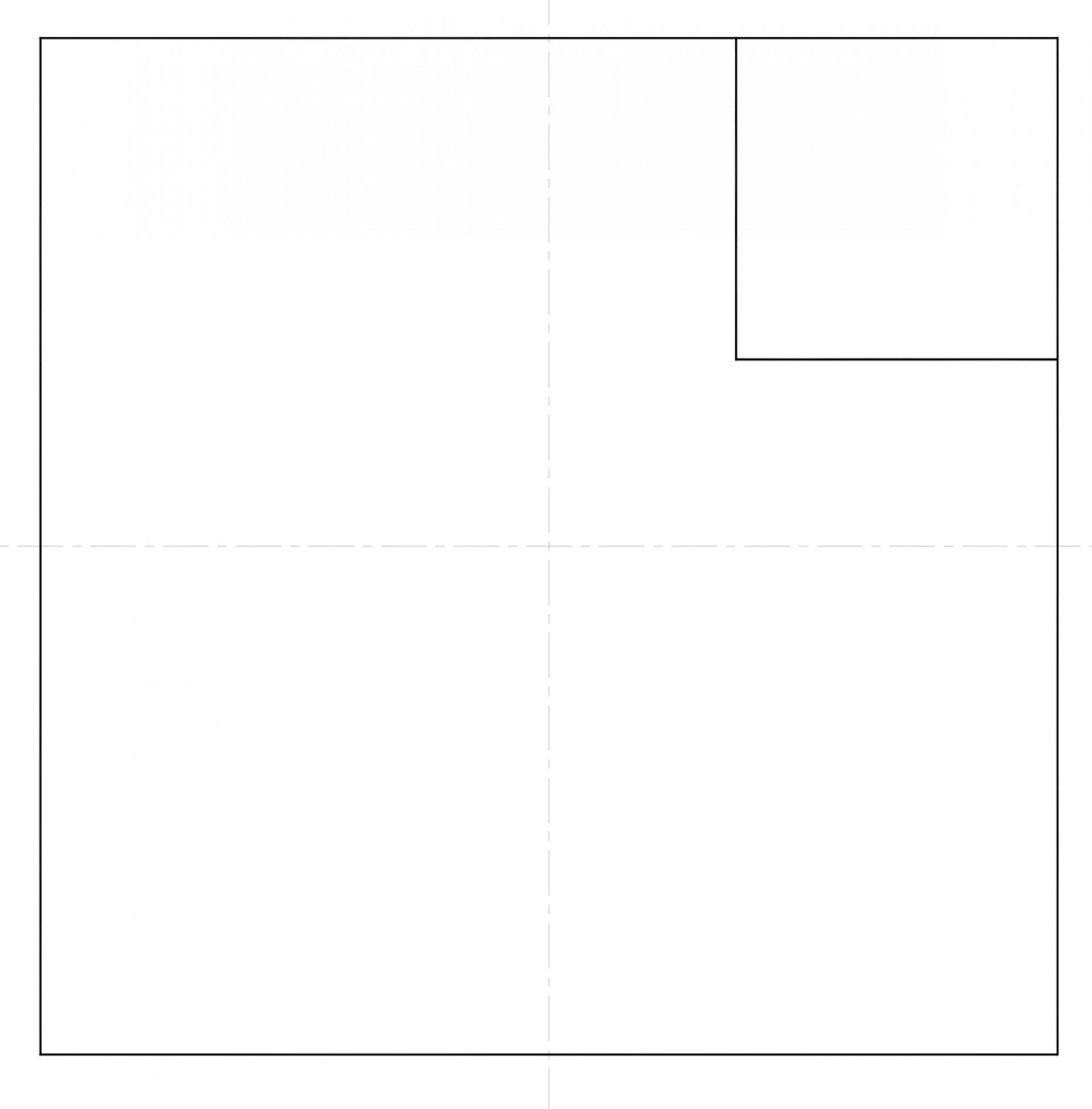 NE57 Miller Squares Ratio 9:1 Pattern