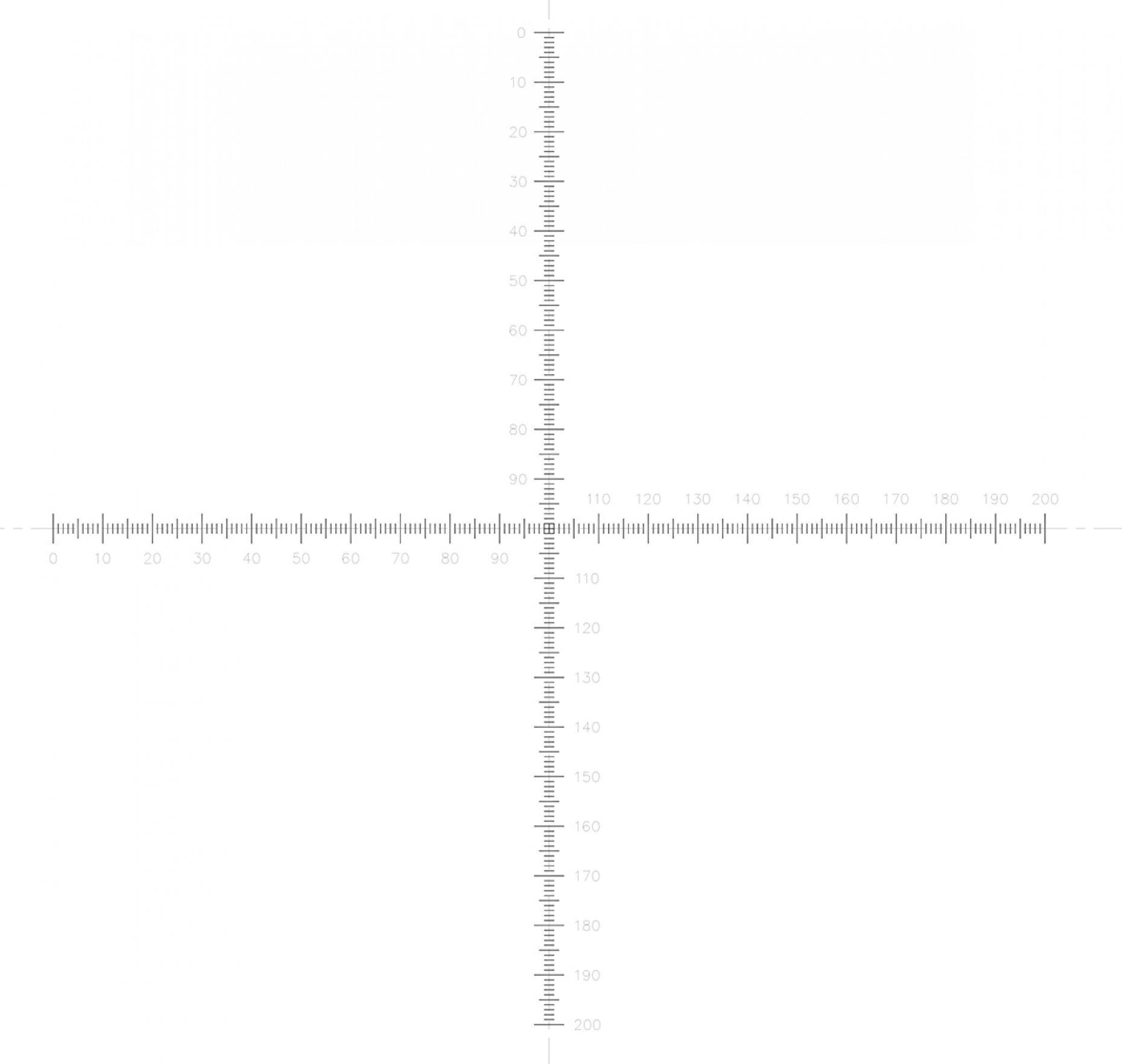 NE72  Crossed Scales 20mm/0.1mm Pattern