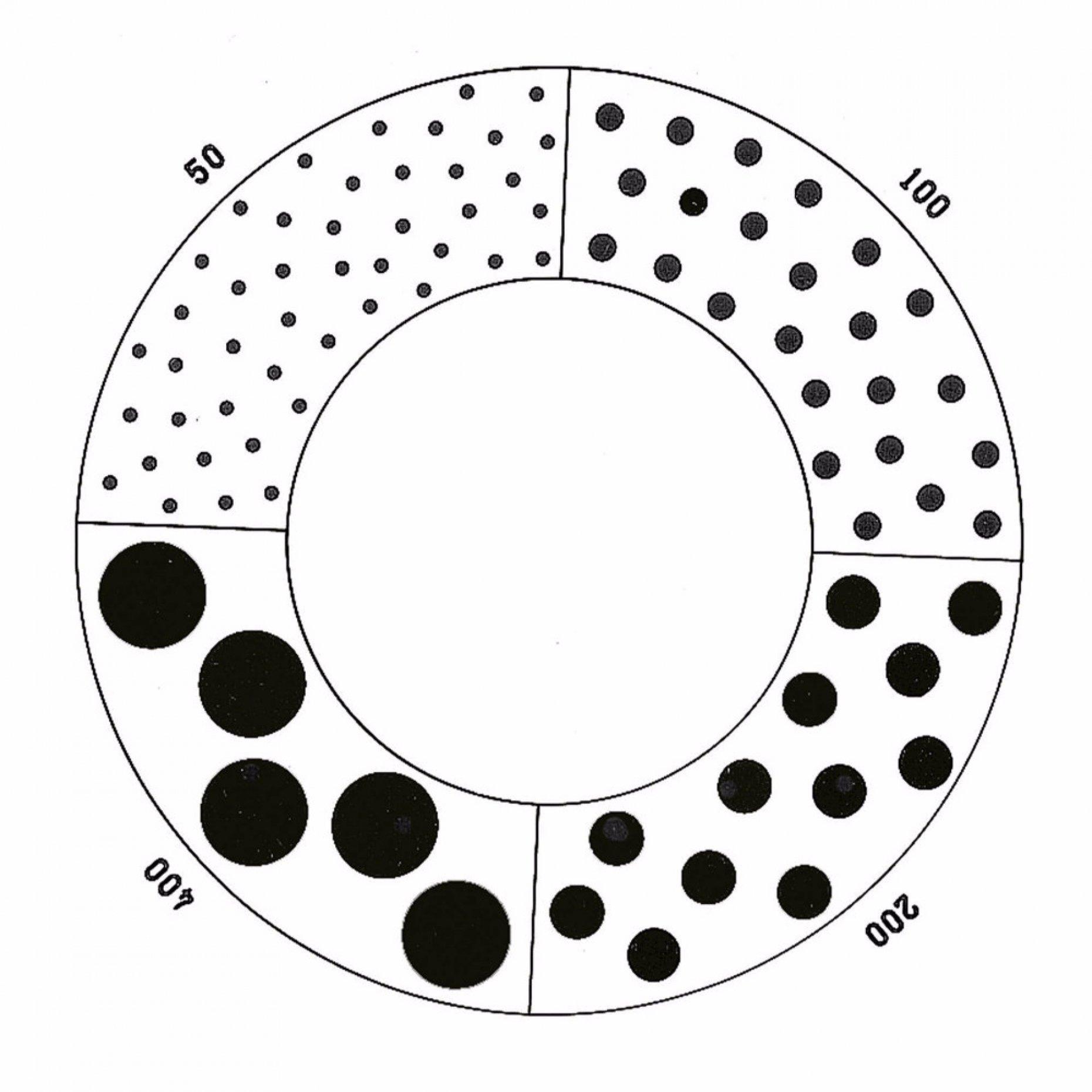 NG30 Matthews Spray Droplet Sizing Pattern