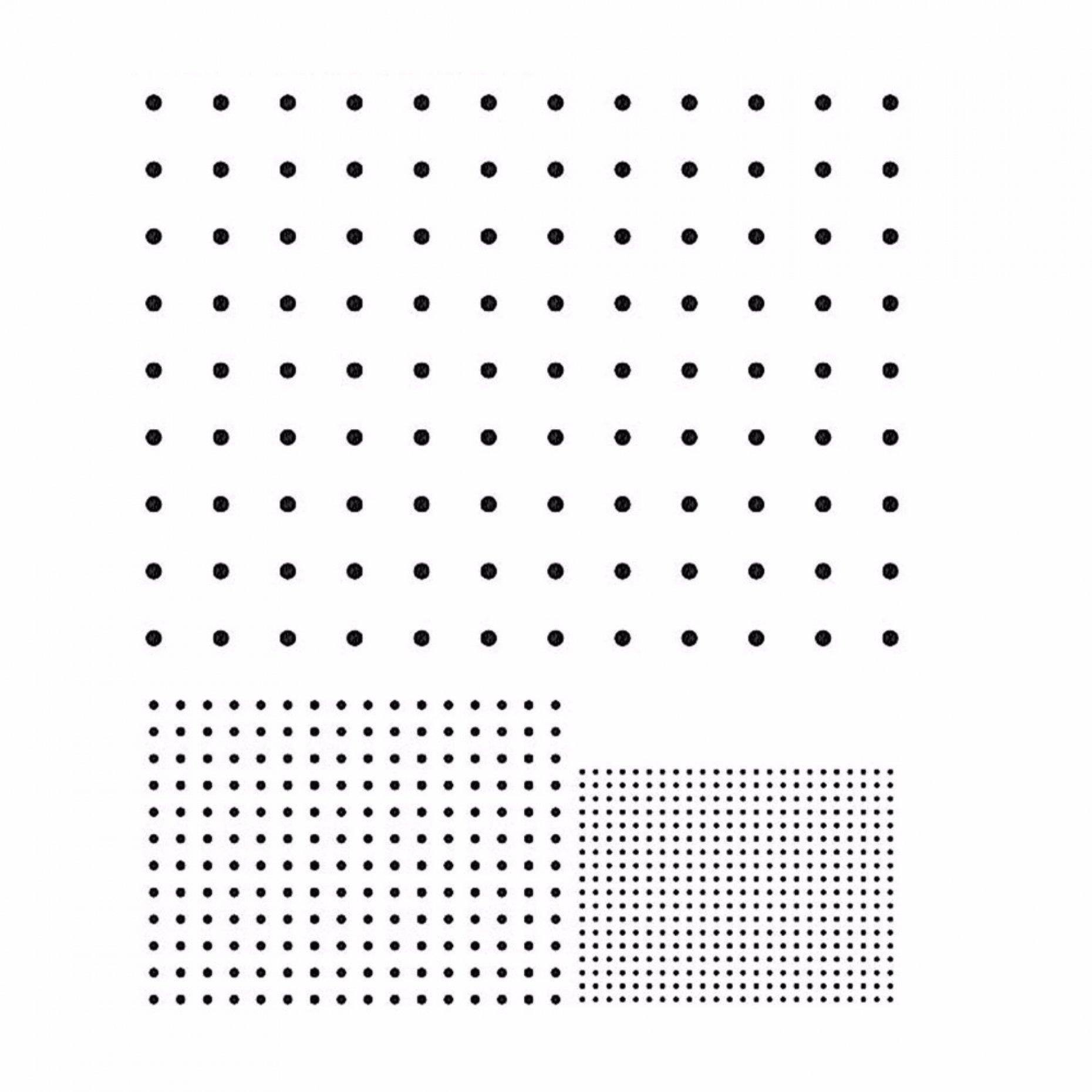 R76 Dot Array Grid Pattern