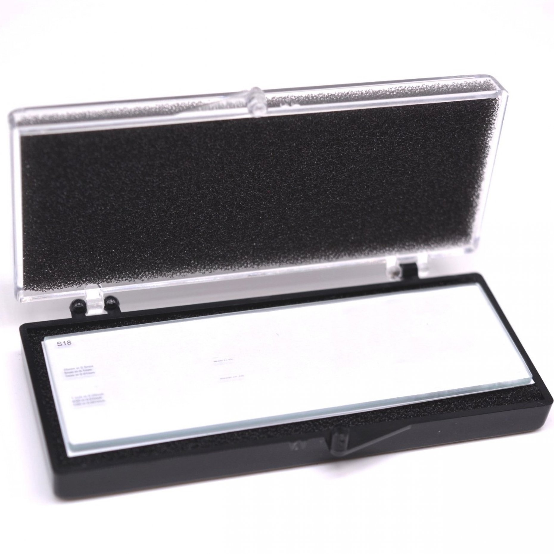 S18 Stage Micrometer Double Graduated Metric/Imperial 25mm and 1'' scales Product